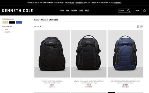 Bags + Wallets Under $69 | Kenneth Cole