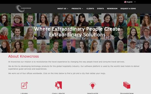 Screenshot of Jobs Page knowcross.com - Careers & Jobs - Knowcross - captured Sept. 20, 2018