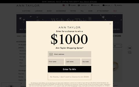 Women's Jewelry - Make a Statement | ANN TAYLOR