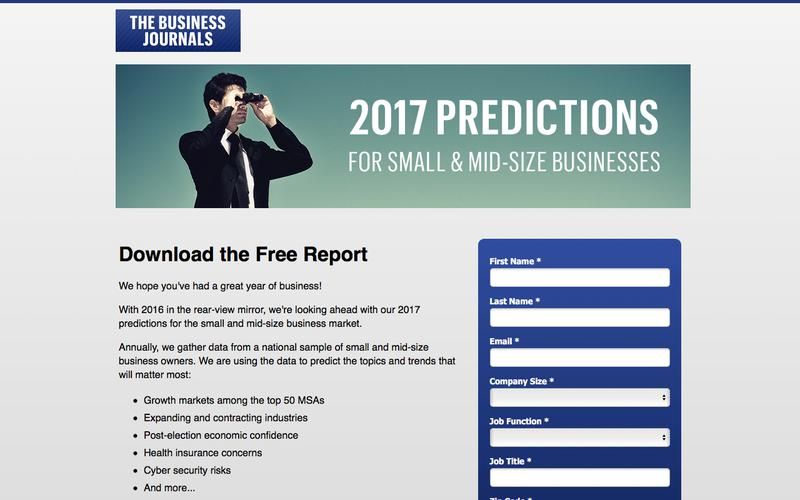 2017 Small and Mid-size Business Market Predictions