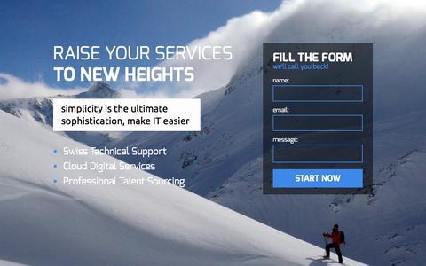 Screenshot of Home Page anitive.com - Talent Cloud Support - captured Dec. 25, 2015