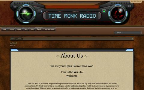 Screenshot of About Page Team Page timemonkradio.com - About   Time Monk Radio - captured April 21, 2016