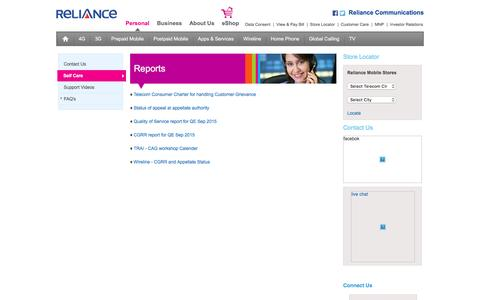 Welcome to Reliance Communications