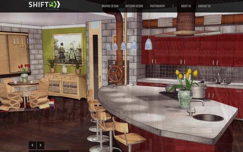 Screenshot of Home Page shiftforwarddesign.com - SHIFT Forward Design | A forward thinking design studio in Denver, Colorado - captured Dec. 18, 2015