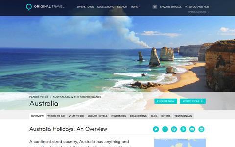 Luxury Holidays Australia | City Breaks to Beach Hotels