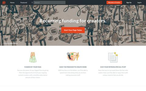 Best crowdfunding site for artists and creators | Patreon