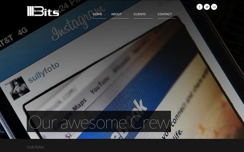 Screenshot of Team Page microbits.co - Microbits - captured Oct. 27, 2014