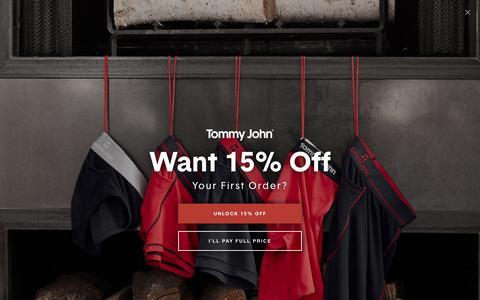 Shop Men's Briefs Underwear Online | Tommy John