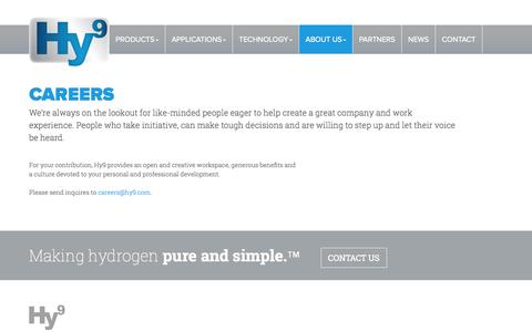 Screenshot of Jobs Page hy9.com - Hy9 | Careers - captured Oct. 3, 2014