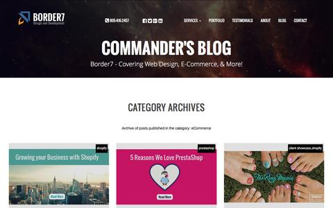 eCommerce Archives - Border7 Studios