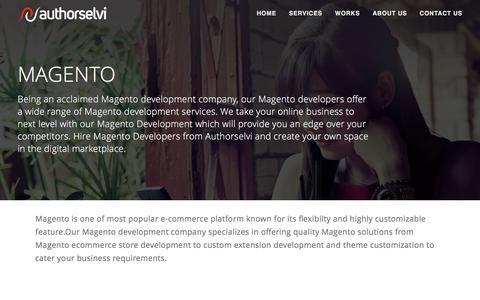 Magento – Web development company