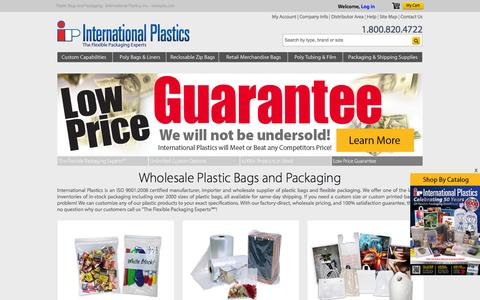 Manufacturer of Plastic Bags and Packaging - Interplas.com