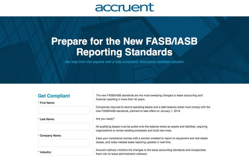 Prepare for the New FASB/IASB Reporting Standards