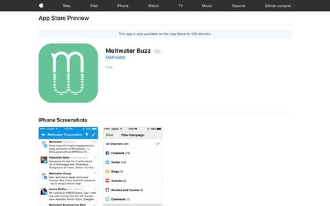 Meltwater Buzz on the App Store