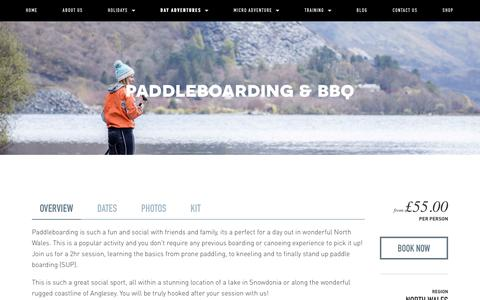 Paddleboarding & BBQ — Psyched Adventures