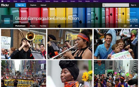 Screenshot of Flickr Page flickr.com - Flickr: tcktcktck's Photostream - captured Oct. 22, 2014