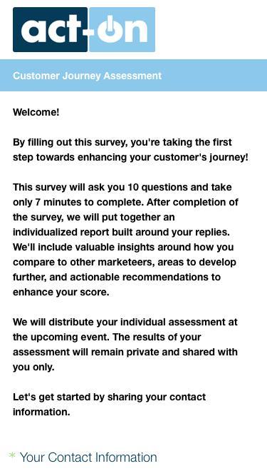 SurveyMonkey Powered Online Survey