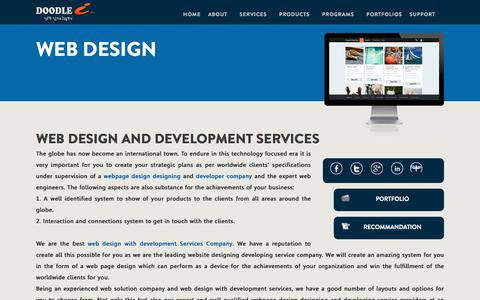 Screenshot of Products Page doodlei.net - Doodlei-Inc| Best web Design Company, Website designing service company, Best web development company - captured Oct. 12, 2017