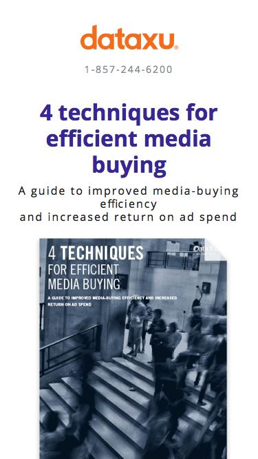 Whitepaper: 4 Techniques for Efficient Media Buying
