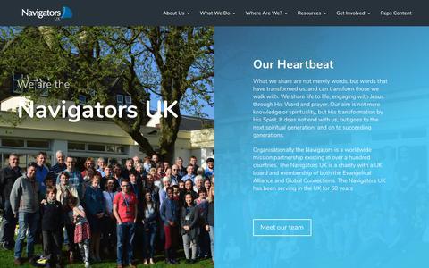 Screenshot of About Page navigators.co.uk - About Us - Navigators UK - captured Dec. 20, 2018