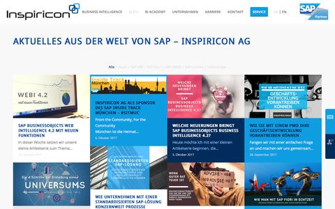 Screenshot of Blog inspiricon.de - Blog - Inspiricon AG - captured Oct. 15, 2017