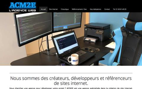 Screenshot of Home Page createur-site-internet.paris - Créateur de site internet - Paris - Agence Web - captured July 4, 2018