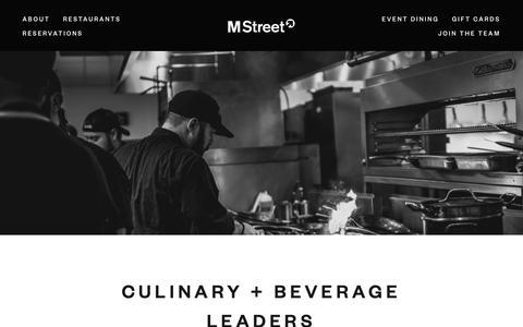 Screenshot of Team Page mstreetnashville.com - Team — M Street - captured April 4, 2019