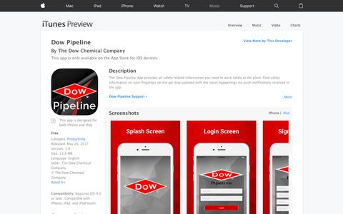 Dow Pipeline on the App Store