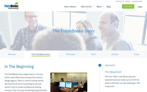 The FreshBooks Story | FreshBooks