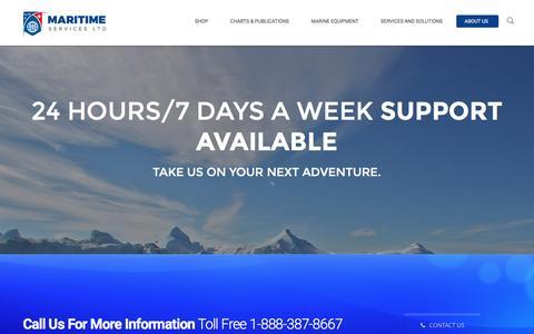 Screenshot of Team Page maritimeservices.ca - Our Team - Maritime Services Ltd. - captured Nov. 19, 2016