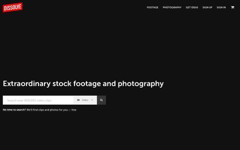 Stock Footage, Stock Photos - Dissolve