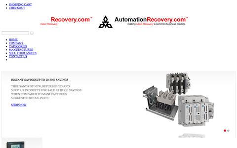 Screenshot of Home Page Terms Page automationrecovery.com - Automation Recovery - Making Asset Recovery A Common Business Practice - captured Sept. 30, 2014