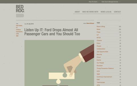 Screenshot of Case Studies Page bedroc.com - Bedroc Blog | Case Studies - captured Oct. 5, 2018