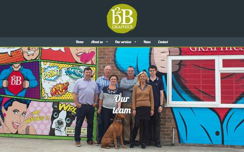 Screenshot of Team Page b2bgraphics.co.uk - The Print Team | Bicester, Oxfordshire | B2B Graphics - captured Dec. 13, 2015