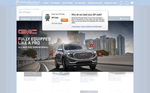 Screenshot of kbb.com - Car Pictures and Videos - Kelley Blue Book - captured Nov. 2, 2017