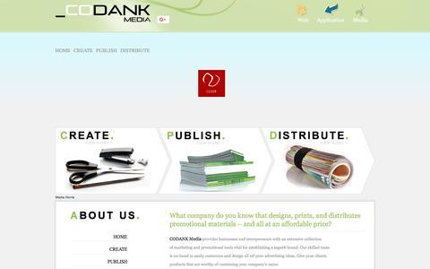 Screenshot of Press Page codank.com - Media-Home - captured July 14, 2018