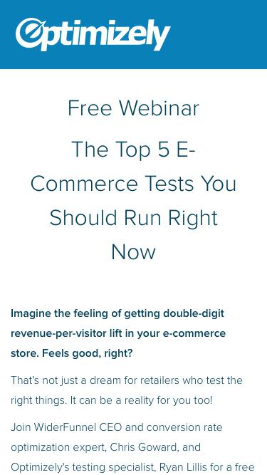 The Top 5 E-Commerce Tests You Should Run Right Now
