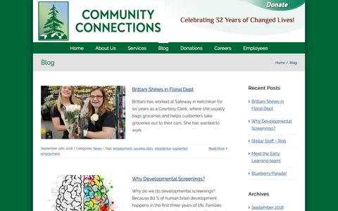 Screenshot of Blog comconnections.org - Blog – Community Connections - captured Sept. 29, 2018