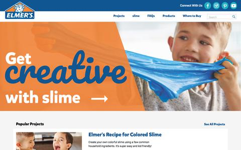 Elmer's Brand Glue & Adhesives | Craft & Project Supplies