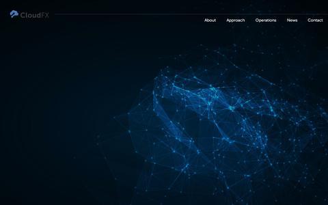 Screenshot of Home Page cloudfx.com - CloudFX - IT Transformation and Cloud Enablement - captured Jan. 29, 2016