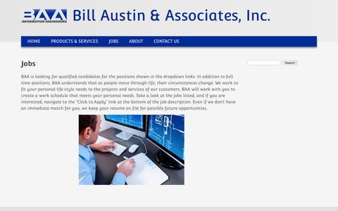 Jobs | Bill Austin & Associates, Inc.