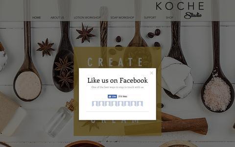 Screenshot of Home Page mykoche.com - mykoche - captured Oct. 15, 2018