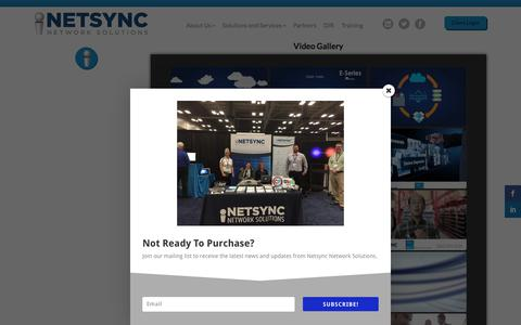 Screenshot of Press Page netsyncnetwork.com - Media | NETSYNC - captured March 10, 2018