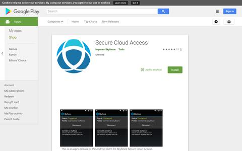 Secure Cloud Access - Apps on Google Play