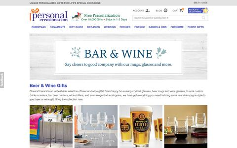 Personalized Beer and Wine Gifts at Personal Creations