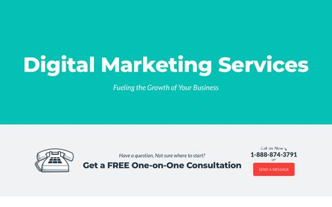 Screenshot of Services Page mainstreethost.com - Digital Marketing Agency Services | Mainstreethost - captured Sept. 29, 2018
