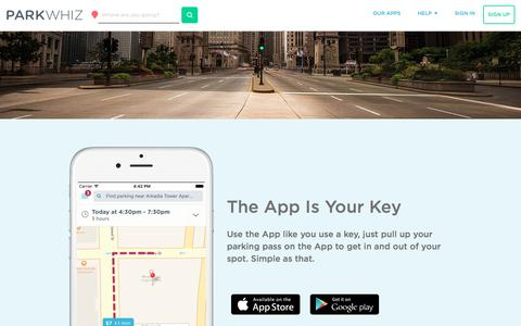 Save money with the free ParkWhiz App for iPhone or Android