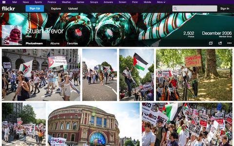 Screenshot of Flickr Page flickr.com - Flickr: triffski's Photostream - captured Oct. 25, 2014