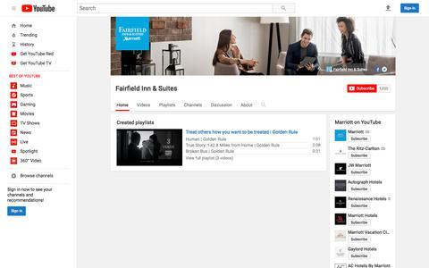 Fairfield Inn & Suites  - YouTube
